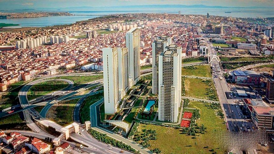 حي اسنيورت السكني في اسطنبول الأوروبية