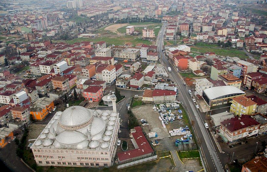 حي بهشة شهير السكني الهادئ غرب اسطنبول
