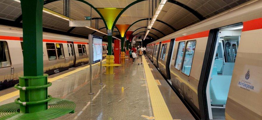 خطوط مترو اسطنبول الرئيسية